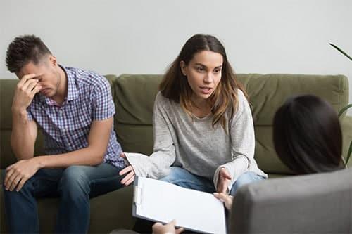 séparation deux personnes mariées régime matrimonial